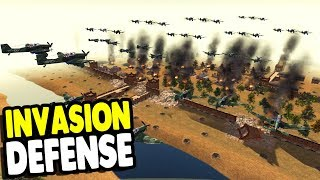 Air Campaign BOMBS FORTRESS Defense Last Stand | RobZ Realism | Men of War: Assault Squad 2 Gameplay