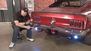 Mustang Scott Drake Led Back Up Light Kit 1965 1970 Installation Youtube
