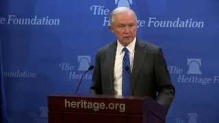Sen. Jeff Sessions' Immigration Speech at The Heritage Foundation Free HD Video