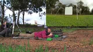 300 Win Mag @ 2220 yards (Rem 700 Long Range)