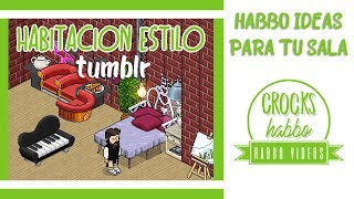 Tutorial : Idea de habitación Tumblr Habbo Version