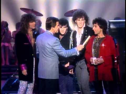 Dick Clark Interviews Bon Jovi - American Bandstand 1985