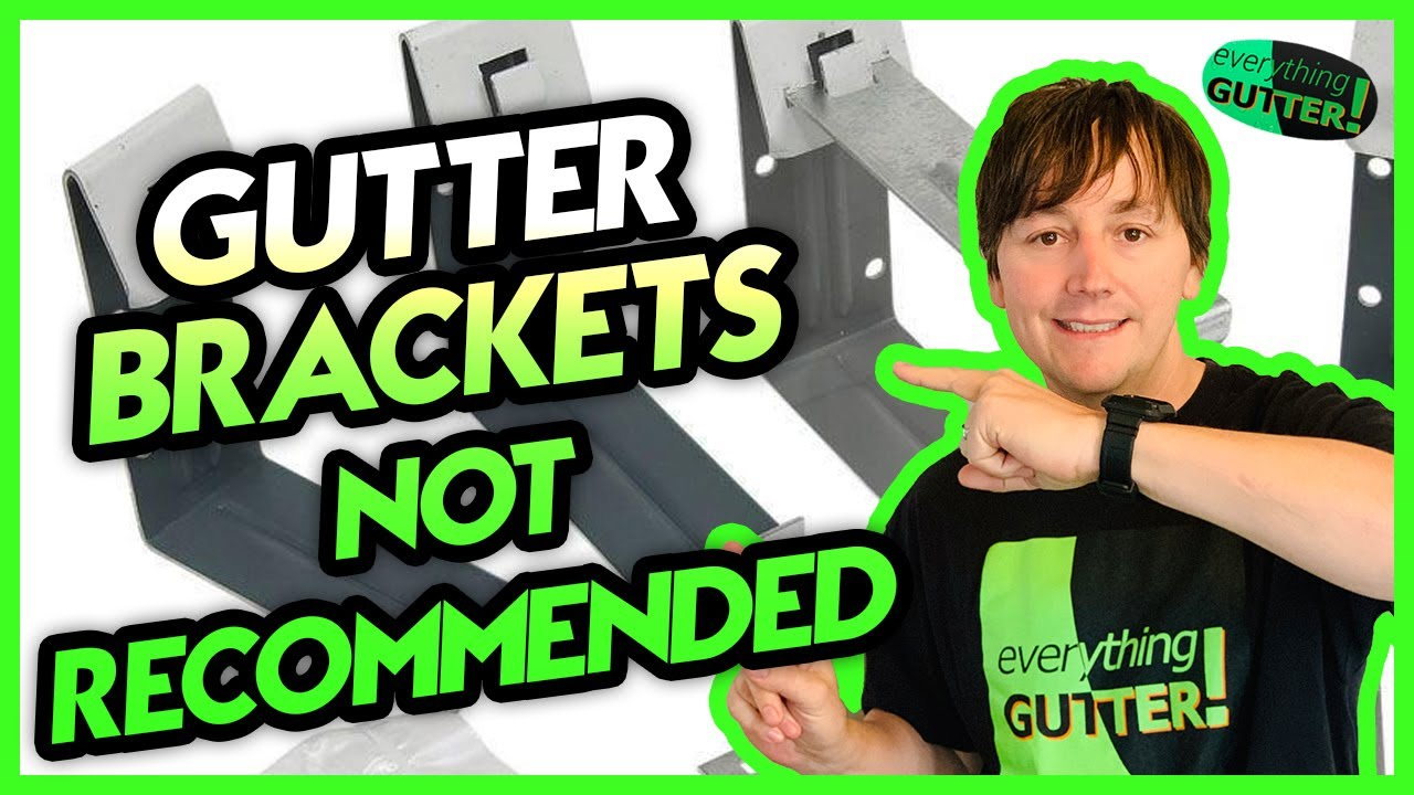 The gutter hangers not recommended quick Tip