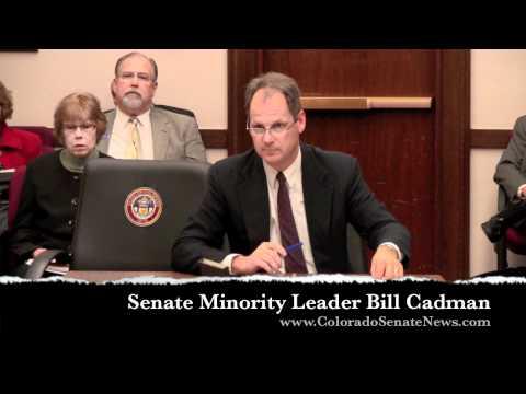 Senate Minority Leader Bill Cadman   SB12-086