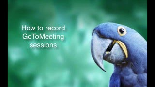 Video How to Record GoToMeeting Sessions as an Attendee on Mac with Callnote download MP3, 3GP, MP4, WEBM, AVI, FLV Mei 2018