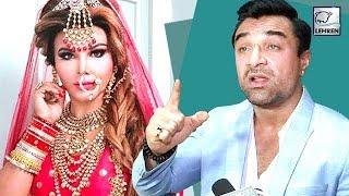Ajaz Khan Shocking Reaction On Rakhi Sawant MARRIAGE