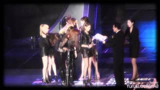 [Fancam] 101209 SNSD - Winning Daesang, Ending @ 2010 Golden Disk Awards - Stafaband