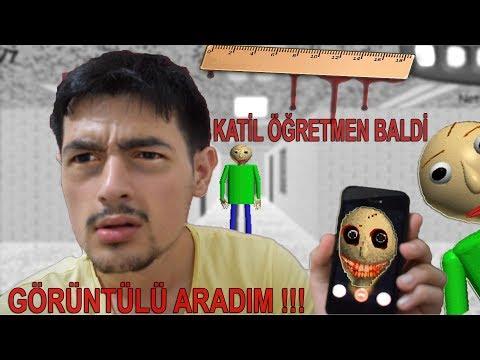 KATİL ÖĞRETMEN BALDİ'Yİ GÖRÜNTÜLÜ ARADIM !! (KAPIMA GİZEMLİ BİR PAKET BIRAKTI !!)