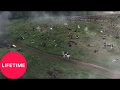 War and Peace: Nikolai Rostov Charges Into Battle | Lifetime