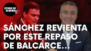 """Sánchez revienta por esto de Luis Balcarce sobre Afganistán: """"¿Para salir escopetados y por patas?"""""""