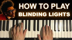 The Weeknd - Blinding Lights (Piano Tutorial Lesson)