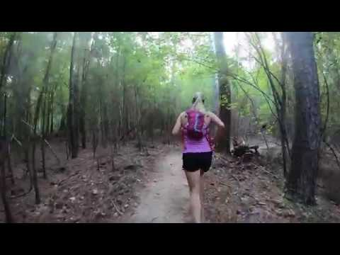 Treadmill Virtual Running  -5k Trail Race In Harbison State Forest