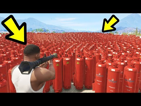GTA 5 - How Many Explosions Will BREAK the Game?