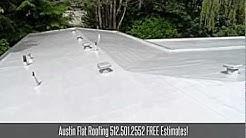 Austin Flat Roofing - 512.501.2552 - Contractors Austin Roof Repair Maintenance Installation