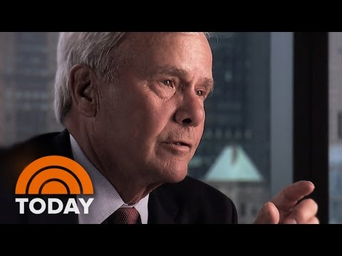 Tom Brokaw Reflects On The 'Momentous Events' He's Covered During 50 Years With NBC News | TODAY