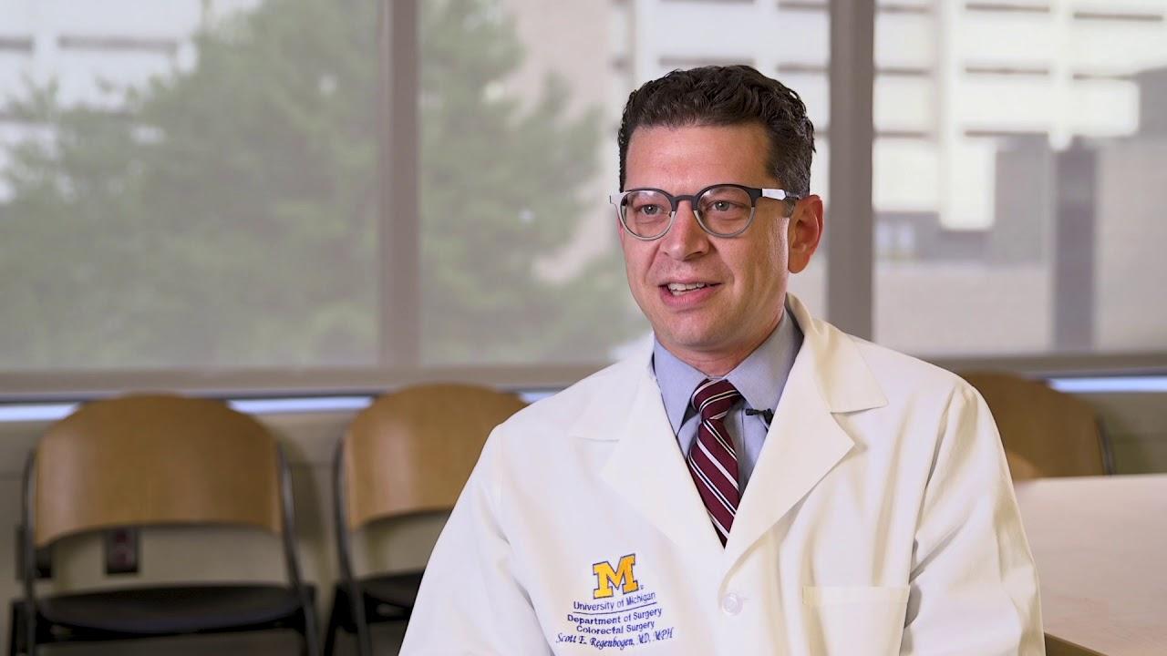 Scott Regenbogen, M.D. | Colorectal Surgeon, Michigan Medicine #Generalsurgery