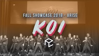 KOI | ARISE: Foundations Choreography Fall 2018 Exhibition