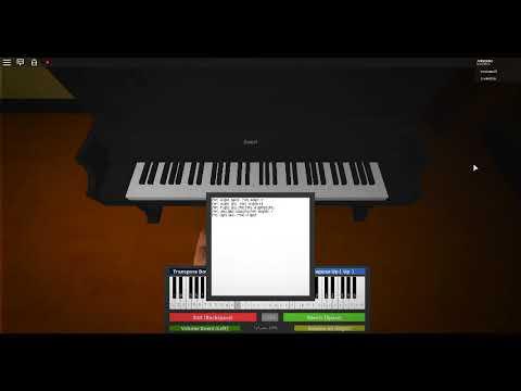 Roblox Minecraft Piano Youtube