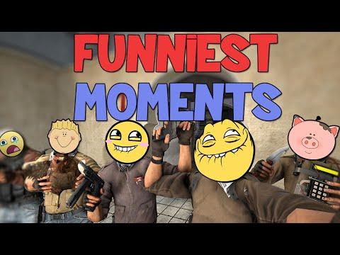 FUNNIEST CS:GO MOMENTS