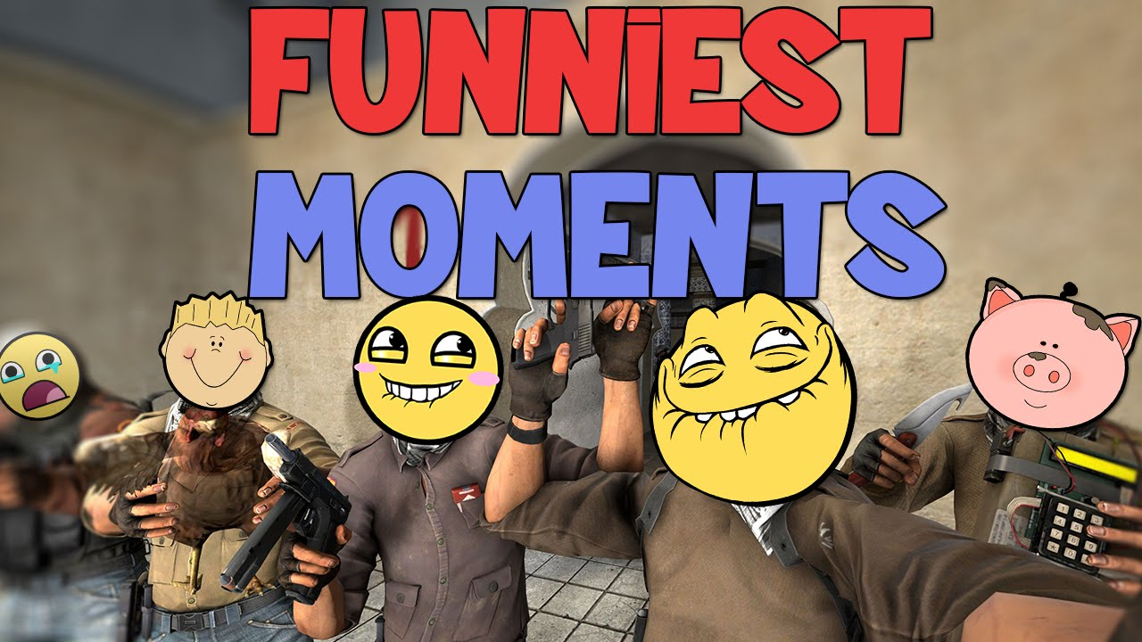 FUNNIEST CS:GO MOMENTS EVER! (Finest Of CS:GO Humorous Moments!)