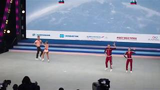 �������� ���� Acrobatic rock-n-roll Samoylov Gusarova - Kondrashin Kozlova / Moscow 2017 ������