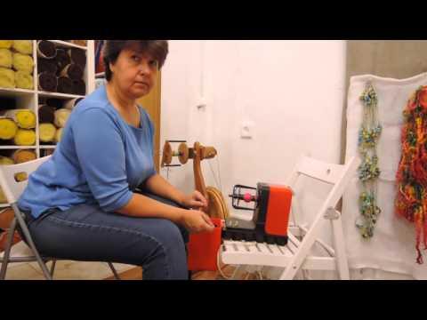 Видео уроки прядения на электропрялке