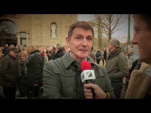 EERBETOON AAN JOHNNY WHITE reportage RTvideo