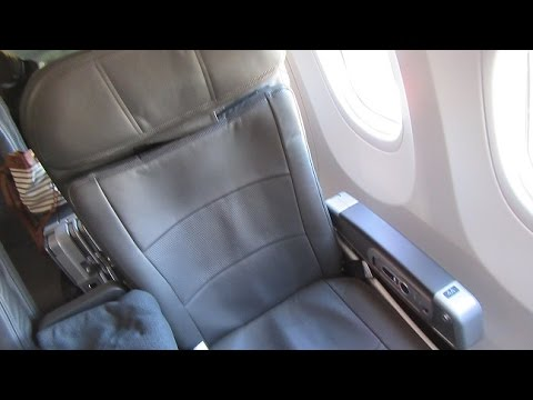 American Airlines First Class Bos Ord Sea Boeing 737 800