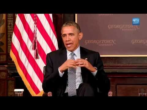 """Obama; """" People Don't want to be Poor"""" A Conversation on Poverty Catholic-Evangelical summit"""