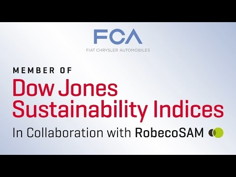 Fiat Chrysler Automobiles named to Dow Jones Sustainability Index World