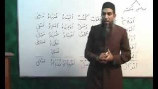 Arabi Grammar Lecture 07 Part 02 عربی  گرامر کلاسس