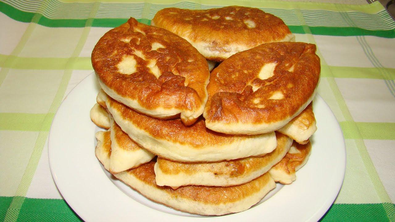 Жареные пирожки со свежей капустой рецепт с фото