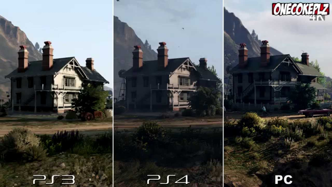 gta v ps4 vs pc