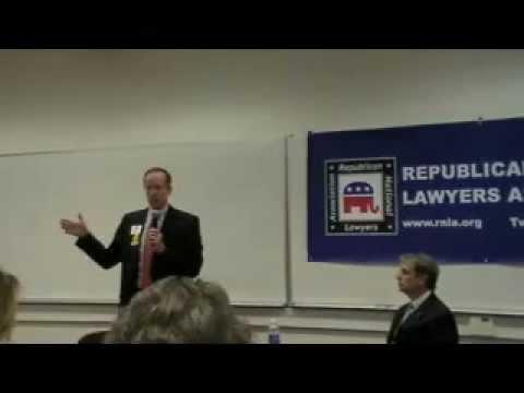 Rob Bell & Mark Obenshain Debate at GMU Law School - March 27, 2013