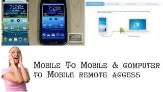 How To Remote Access Mobile To Mobile And Pc To Mobile