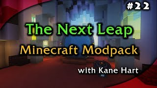 Minecraft: The Next Leap Modpack - Part 22 - IC2 Electric Jet Pack & Exploring the Railway