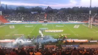 Salida Pumas vs Australia. Mendoza 4/10/2014