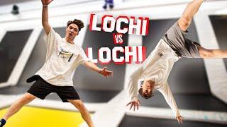 LOCHI VS LOCHI in einem TRAMPOLIN PARK 😳 (völlig untalentiert)