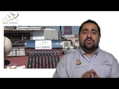 ¿Como funciona un calentador solar?