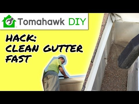 How to Clean Rain Gutters [Easy]