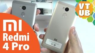 Xiaomi Redmi 4 Pro Золотой, Сравниваю с серым Посылка с Aliexpress