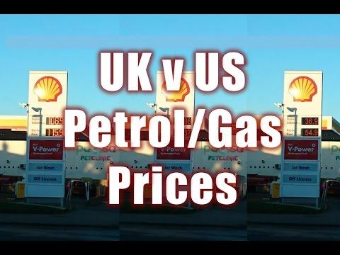 017 Vanlife VLOG - UK Petrol Price V US Gas Price - Just For Fun Comparison
