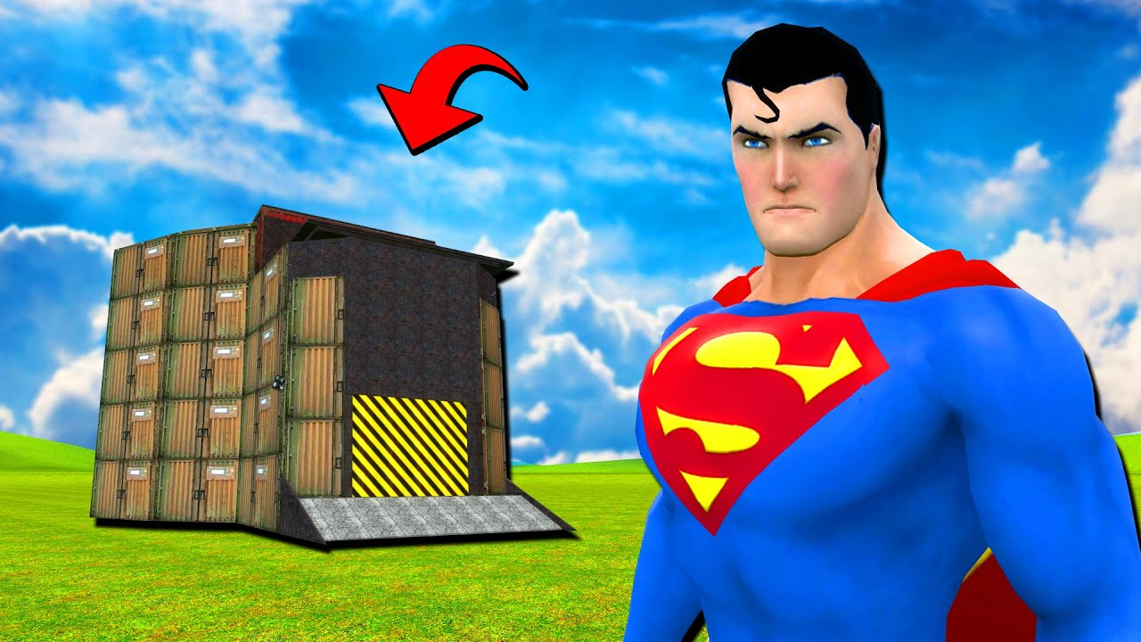 Superman Vs บ้าน
