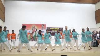 K V GAIL Jhabua dance on the occasion  of 15 Aug 2015.
