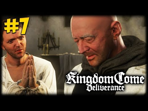 A NIGHT WITH A PRIEST! Kingdom Come Deliverance Let's Play #7
