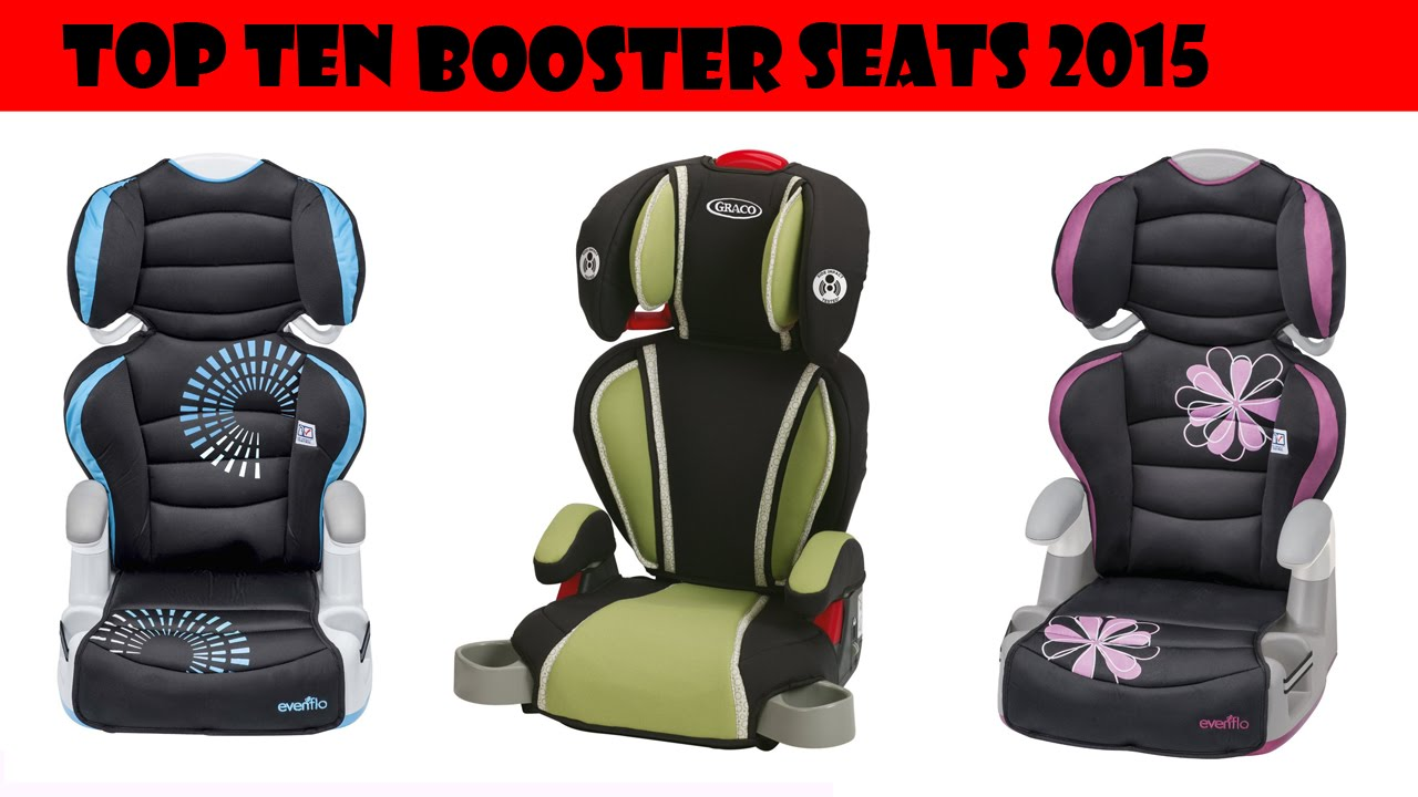 Top Ten Sellers - Booster Car Seats 2015 - YouTube