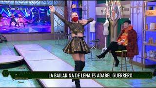 Adabel Guerrero bailó cumbia con un diseño de Lena