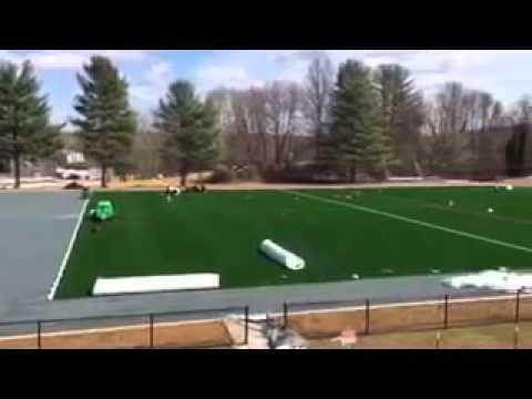 Turf Field Installation at the John Carroll School