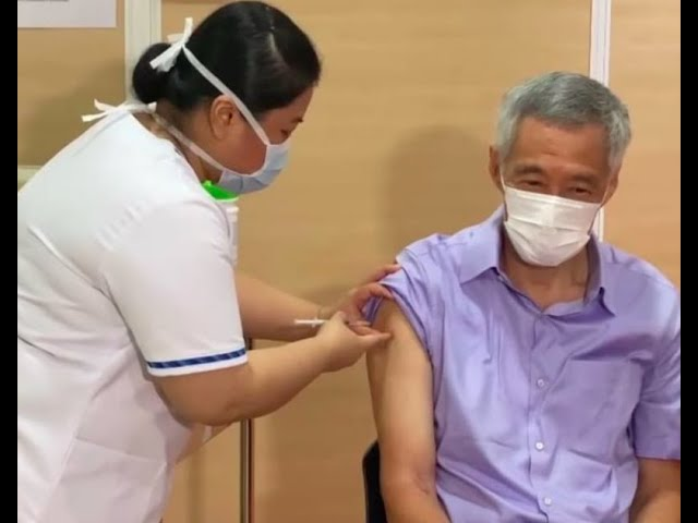 PM Lee first in Cabinet to receive Pfizer-BioNTech vaccine