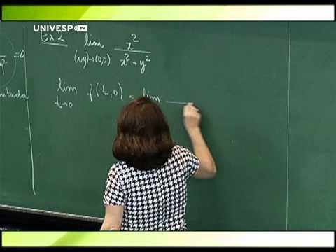 Cálculo II - Aula 6 - Parte 2 - Continuidade e cálculo de limites de funções de duas variá